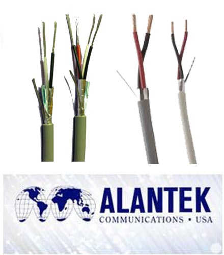 Alantek audio/control 22AWG, 2 pair cable (500m/rl)
