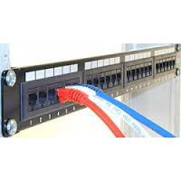 Patch Panel Cat 5e 24port, SL SERIES